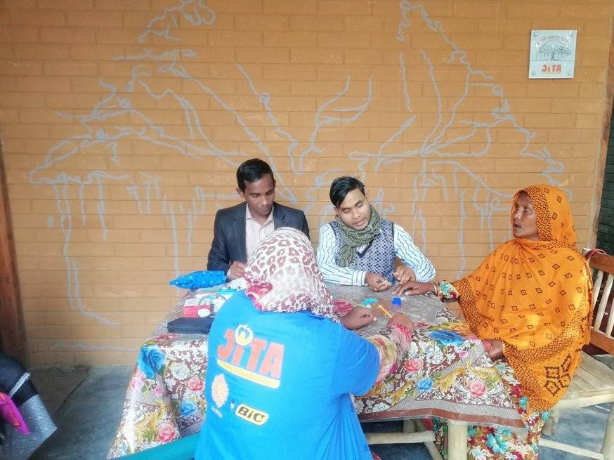 Health Check Up during Bottola Health Camp 2018